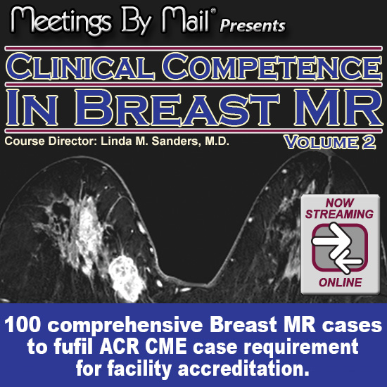 Clinical Competence in Breast MR vol. 2