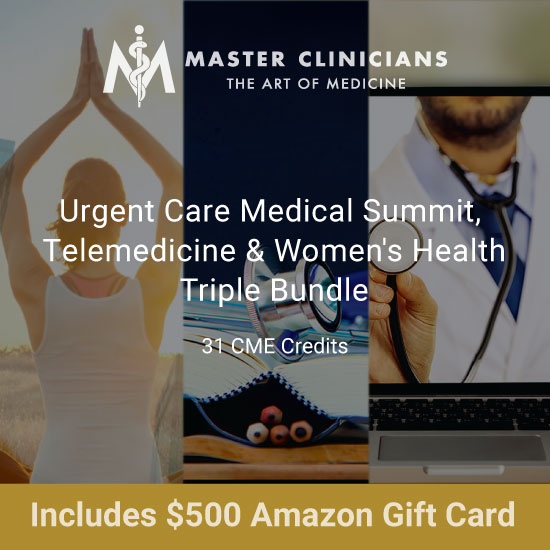 Emerging Fields Triple Bundle: Urgent Care, Telemedicine, Women's Health with $500 Amazon Gift Card