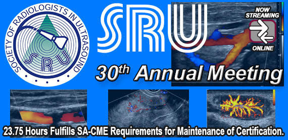 SRU (Society for Radiologists in Ultrasound) 30th Annual Meeting