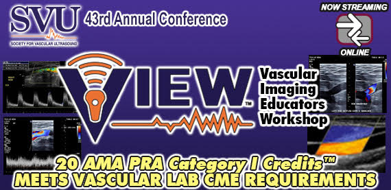 Vascular Imaging Educators Workshop